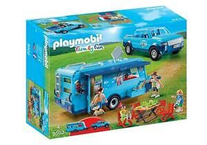 Playmobil Family Fun 9502 Funpark Pick Up with Trailer ...
