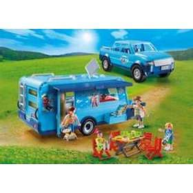 Playmobil Family Fun 9502 Pickup with Camper Best Price ...