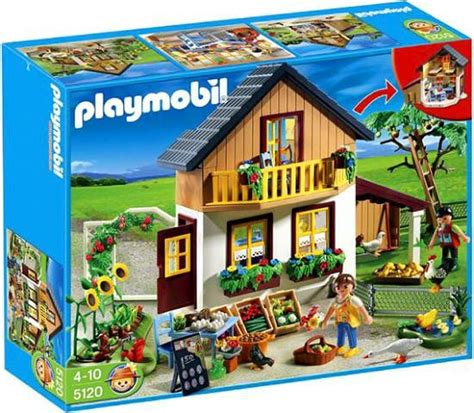 Playmobil Farm House with Market Set 5120   ToyWiz
