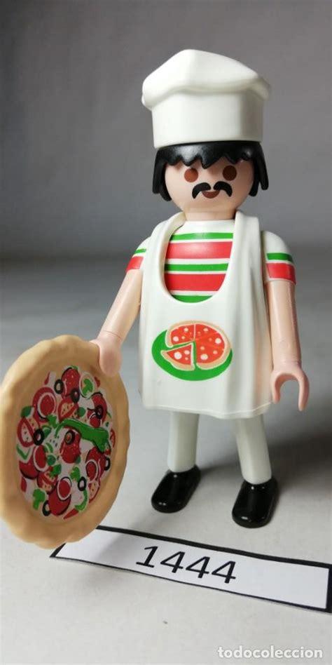 Playmobil figures cocinero pizzero ciudad  zcet   Vendido ...