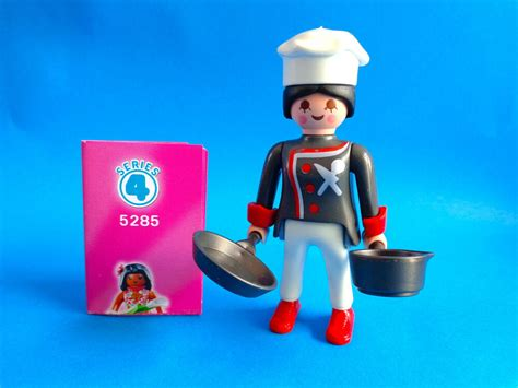 Playmobil Figures serie 4 Female Cook with pan   Cocinera ...