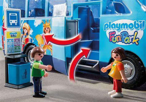 PLAYMOBIL FunPark Bus   9117   PLAYMOBIL United Kingdom