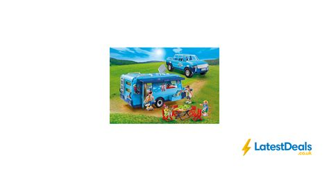 PLAYMOBIL FunPark Pickup with Camper Only £18 ...