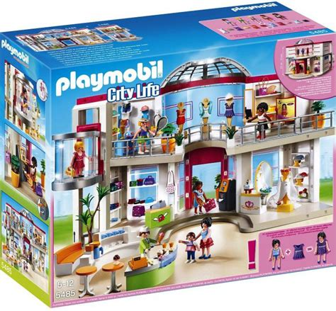 Playmobil Furnished Shopping Mall 5485 | Table Mountain Toys