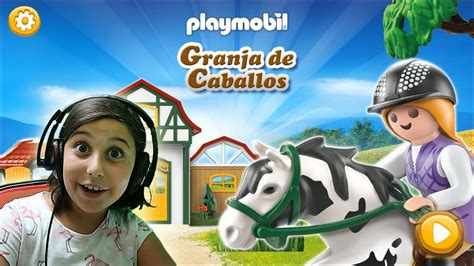 Playmobil Granja de Caballos App Gameplay   YouTube