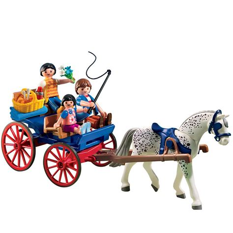 Playmobil Horse Drawn Carriage   Playmobil   Toys  R  Us ...