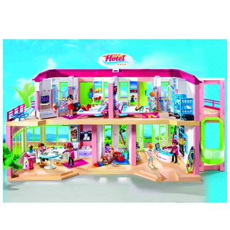 Playmobil Hotel 5265   £88.00   Hamleys for Toys and Games