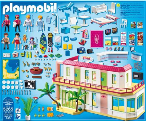 Playmobil Hotel   Compleet familiehotel