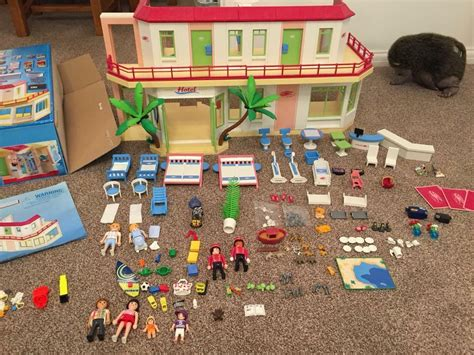 Playmobil HOTEL summer fun large boxed every single item ...