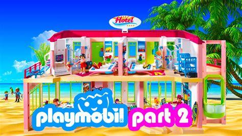 Playmobil Hotel Summer Fun Vacation Part 2   YouTube