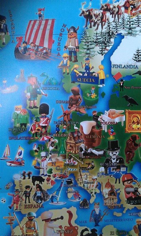 Playmobil in Europe | Playmobil | Pinterest | Playmobil ...