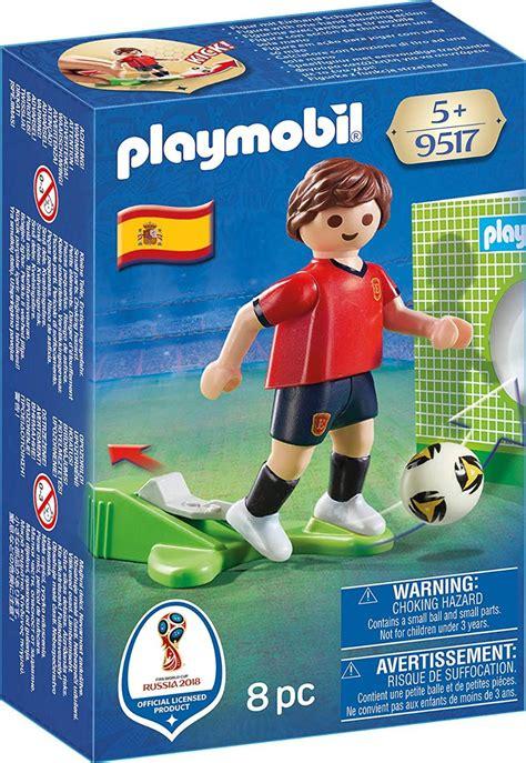 Playmobil Jugador De Fútbol De España Figura Edificable ...
