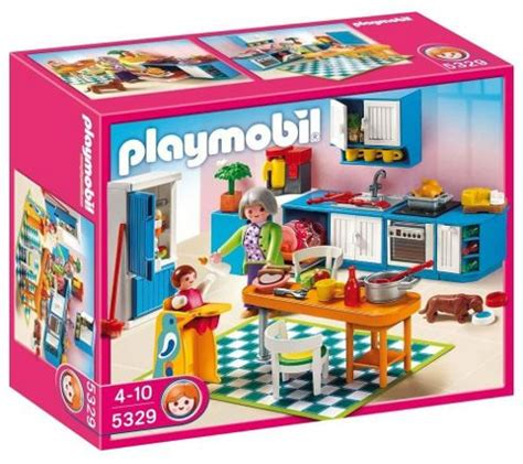 Playmobil   Kitchen 5329 from the Playmobil Dollhouse ...