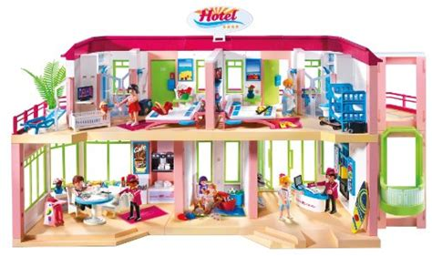 PLAYMOBIL Large Furnished Hotel   Buy Online in UAE ...