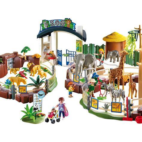 Playmobil Large Zoo Set   Playmobil   Toys  R  Us | Zoo ...