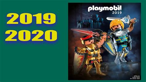 PLAYMOBIL   Nouveau Catalogue 2019 2020   YouTube