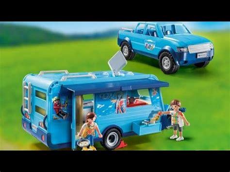 Playmobil nouveautés 2020/2021 caravane Fun Park 9502 ...