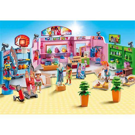 Playmobil Paseo Comercial con 3 Tiendas Toy Planet.