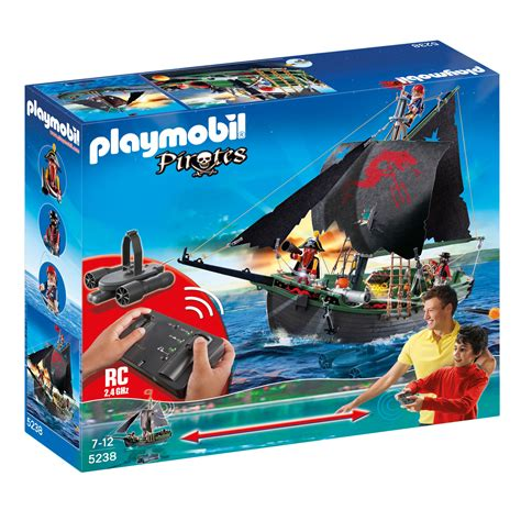 Playmobil RC Pirate Ship 5238 from the Playmobil Pirates ...
