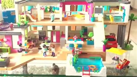 Playmobil Re s Modern Luxury Mansion   Overview   YouTube