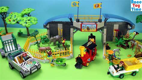 Playmobil Safari Animals Zoo Playset Build and Play   Fun ...