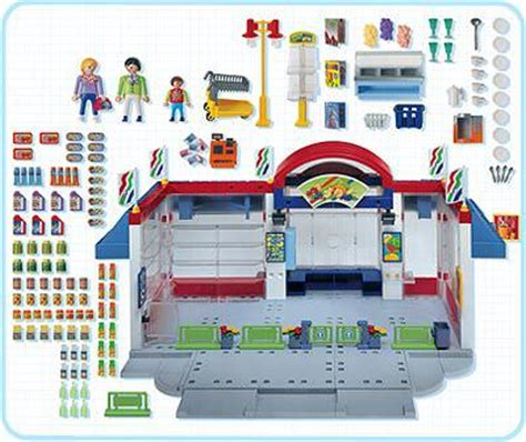 Playmobil Set: 3200s2   Supermarket   Klickypedia