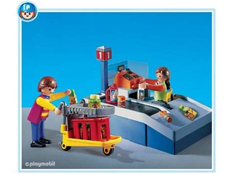 Playmobil Set: 3201s2   Grocery Check out   Klickypedia