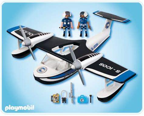 Playmobil Set: 4445   Police Seaplane   Klickypedia