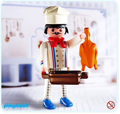 Playmobil Set: 4593   Chef   Klickypedia