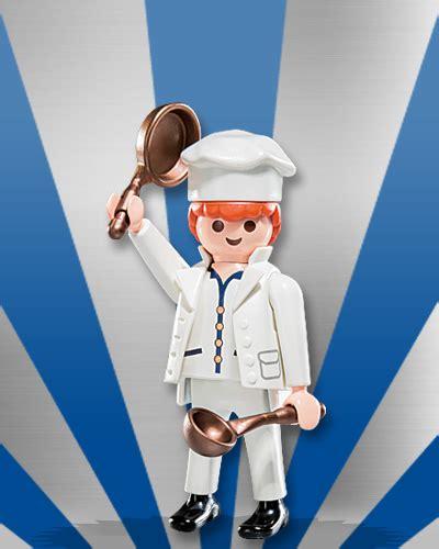 Playmobil Set: 5537v3   Cook   Klickypedia