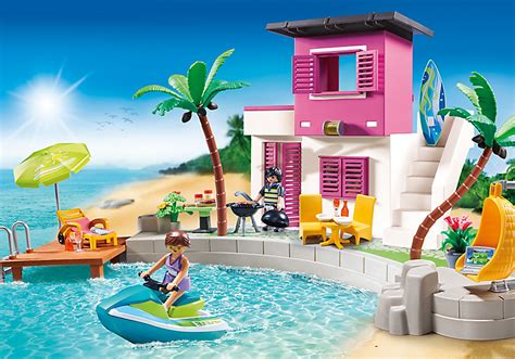 Playmobil Set: 5636 usa   Luxury Beach House   Klickypedia