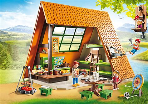 Playmobil Set: 6887   Great Holiday Camp   Klickypedia