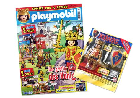 Playmobil Set: 80588 ger   Playmobil Magazin 3/2017  Heft ...