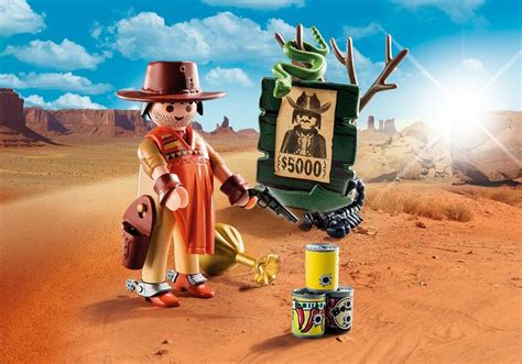 Playmobil Set: 9083   Cowboy with Wanted Poster   Klickypedia