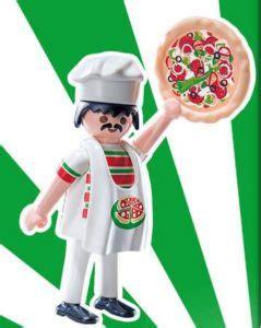 Playmobil Set: 9241v11   Italian cook   Klickypedia