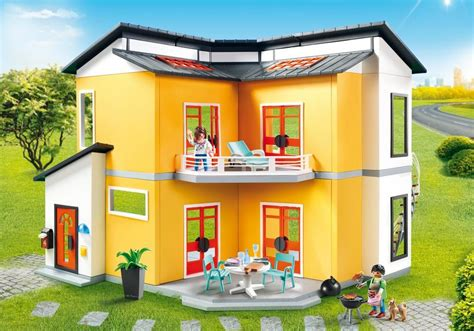 Playmobil Set: 9266   Modern house   Klickypedia