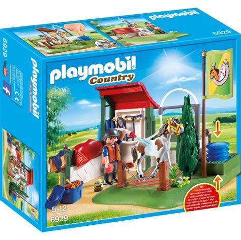 Playmobil   Set de Limpieza para Caballos Playmobil ...