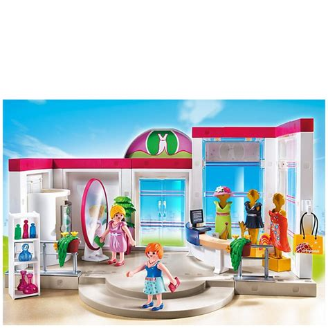 Playmobil Shopping Centre Clothing Boutique  5486  Toys ...