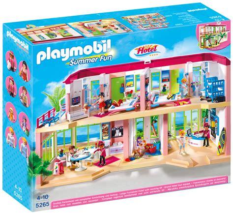 PLAYMOBIL Summer Fun 5265 pas cher   Grand hôtel