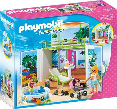 Playmobil   Summer Fun Beach House Play Box   6159