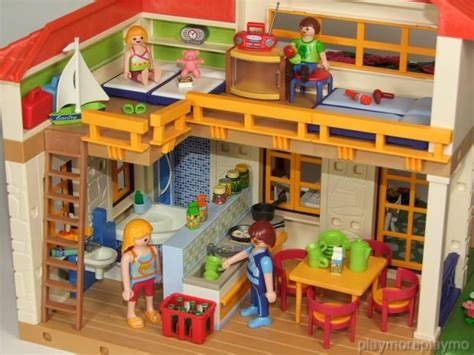 Playmobil SUMMER / HOLIDAY HOUSE 4857 PLUS EXTRAS for ...