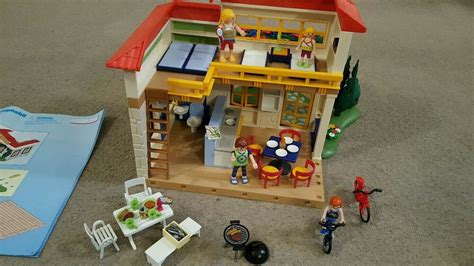Playmobil summer house 4857 with box and instructions | eBay