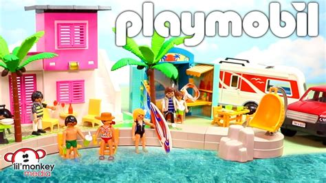 Playmobil Summer Playsets! Summer Fun | City Action | City ...