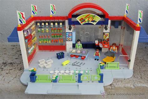 Playmobil supermercado 3200. año 2002. grande y   Vendido ...
