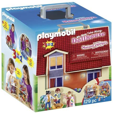 Playmobil Take Along Modern Dolls House 5167, 4yrs+ from Ocado
