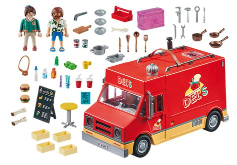 PLAYMOBIL:THE MOVIE Del s Food Truck   70075   PLAYMOBIL ...