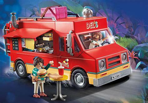 PLAYMOBIL:THE MOVIE Del s Food Truck   70075   PLAYMOBIL USA