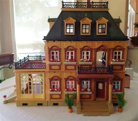 Playmobil Victorian Mansion Dollhouse 5300 w EXTRAS | eBay ...