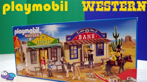 Playmobil Western set Unbox and Playtime!   YouTube