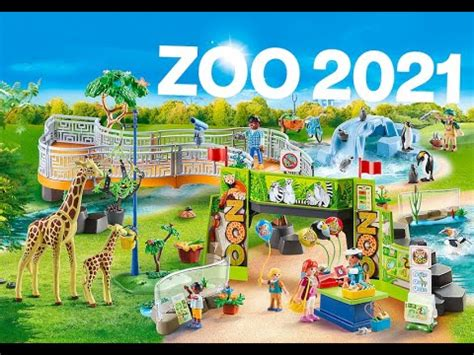 Playmobil zoo 2021   YouTube